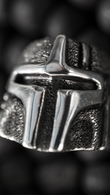 Boba Fett Custom Bead by Hiraeth - Sterling Silver