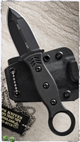 TOPS Knives I.C.E. Dagger Fixed Blade Neck Knife w/Belt Loops