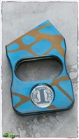 LTD Edition Unique Anodize Titanium JANUS Knucks