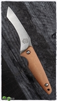 John Gray Custom Hooker Brown Micarta