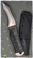 John Gray Custom Ti Recurve Tanto Cord Wrapped