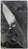 John Gray/Eric Tuch Custom Collaboration, Nitro V, Lightning Strike Carbon Fiber/Titanium