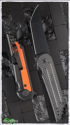 Jake Hoback Kwaiback Carbon Fiber Top & Hunter Orange Backplate