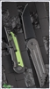 Jake Hoback Kwaiback Carbon Fiber Top & Toxic Green Backplate