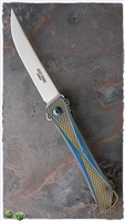 Jeff Park Mid-Tech Bones Flipper, Anodized Titanium, CPM-154