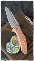 Kershaw Mini Natrix Sub-Frame Lock, Copper Scales