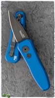 "Kershaw Launch 4 CA Legal Automatic, Blue W/1.9"" Black CPM-154"