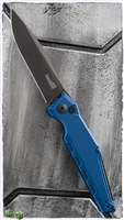 "Kershaw Galyean Launch 7 Automatic, Blue Aluminum, 3.75"" Black CPM-154, 7900BLUBLK"