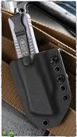 Microtech Kydex Belt Sheath For Combat Troodon Black Kydex