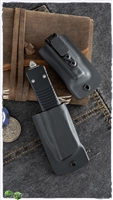 Microtech Kydex IWB Sheath For Combat Troodon Black Kydex