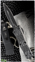 Microtech Troodon D/E 138-1CFT Black Blade Carbon Fiber Tactical