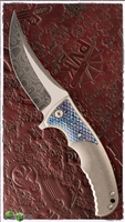 Les George Custom Damascus Sicario