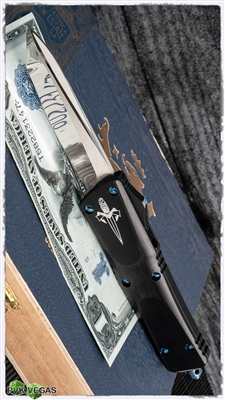 Marfione Custom Combat Tanto High Polish Blade Blue Ti Hardware