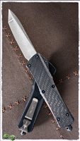 Marfione Custom Combat T/E SW Blue Carbon Fiber Top