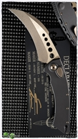 Marfione Custom HAWK Two-Tone Bronzed AP Blade Two-Tone Bronzed Hardware