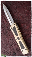 Marfione Custom Combat Troodon D/E HP Blade Brass/Copper/CF Inlays