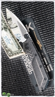 Marfione Custom DOC M/A Carbon Fiber High Polish Compound Blade Black HWSN003