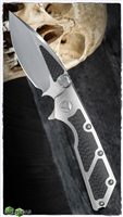 Marfione Custom DOC M/A SF Blade Titanium Handle w/ CF Inlays