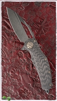 Marfione Custom Matrix-R DLC Two-Tone Apocalyptic Carbon Fiber / DLC Apocalyptic Titanium Handle With DLC Accents & Bronzed Hardware