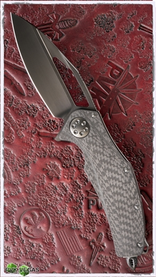 Marfione Custom Matrix Full Size Titanium / CF Handle DLC Ti Hardware DLC Satin Blade
