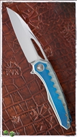 Marfione Custom Sigil MK6 MIrror Blade Color Anodized Handle MokuTi Plate
