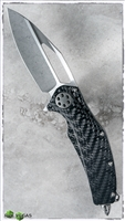 Marfione Custom Mini Matrix Titanium / CF Handle Fallout Blade