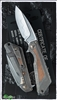 Marfione Custom Strider MSG 3.5 Copper Inlay W2 Satin Blade w/ Hamon