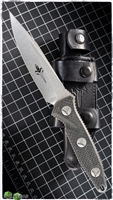 Marfione Custom Socom Alpha Single Edge Stonewash Carbon Fiber