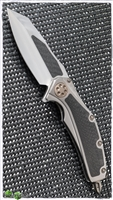Marfione Custom Super Matrix Titanium Carbon Fiber w/ Bronze TI Hardware