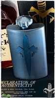 Marfione Custom Flask Tall w/ Tritium Insert Spin Top