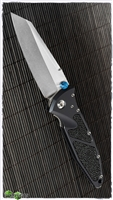 Marfione Custom SOCOM Elite Warcom Two-Tone Stonewash Stingray Inlay Satin HW Blue Ti Accents
