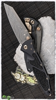 Marfione Custom SOCOM Elite Warcom Chad Nichols Damascus Stingray Skin Inlay W/ Bronzed Satin HW