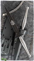 Medford FS Commando SEAL Edition Dagger Fixed Blade Knife Titanium