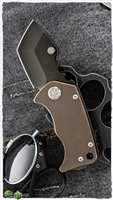 Medford Panzer PVD Blade Bronze Ti Chassis