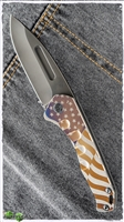 Medford Praetorian Slim PVD Drop Point American Flag DLC HW