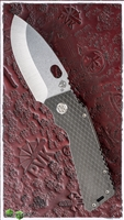 Medford TFF-H Stonewash Blade Scales Etched PVD Handle