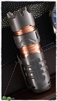 Manker Timeback II 2200 Lumen Titanium Spinner Flashlight