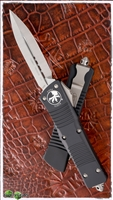 Microtech Combat Troodon 142-4 D/E Black Handle Satin Finish Blade