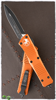 Microtech Combat Troodon 142-1OR Double Edge Orange