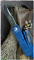 Microtech Combat Troodon S/E 143-1BL Black Blade Blue Handle