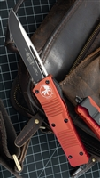 Microtech Combat Troodon S/E 143-10OR Stonewash Blade Orange Handle