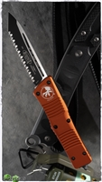 Microtech Combat Troodon T/E 144-3OR Full Serrated Orange