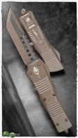Microtech Combat Hell Hound Signature Series Dark Earth Cerakote