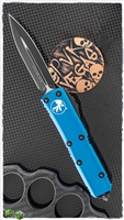 Microtech UTX-85 D/E 232-1BL Black Blade Blue Handle