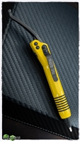 Microtech Siphon II Yellow & DLC Stainless Pen 401-SS-YW