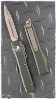 Microtech Ultratech D/E 122-13OD Bronzed Blade & HW OD Handle