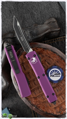 Microtech Ultratech T/E 123-1VI Black Blade Violet Handle