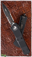 Microtech Troodon D/E 138-2T Black Serrated Tactical