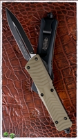 Microtech Combat Troodon 142-1GTOD D/E Black Blade OD G10 Handle