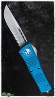Microtech Combat Troodon D/A OTF S/E 143-11 BL Stonewash Serrated Blue Handle